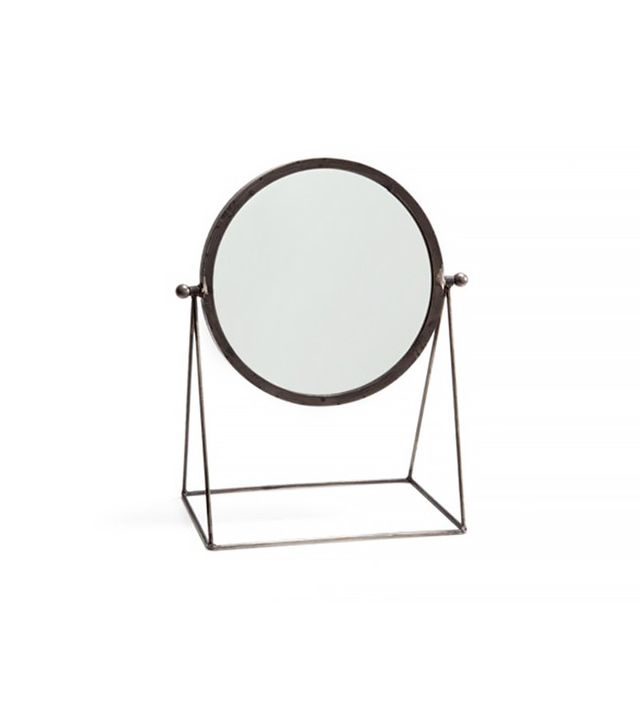 Zara Home Mirror with a Black Metallic Stand
