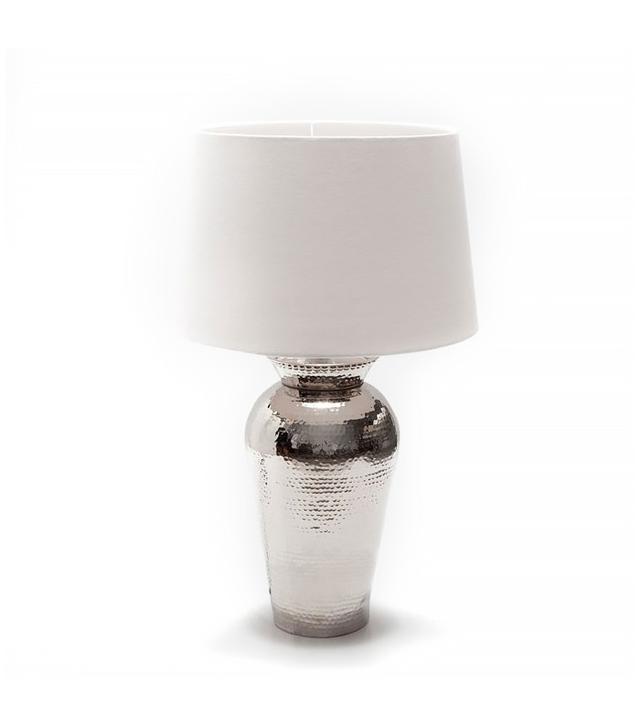 Zara Home Hammered Metal Lamp