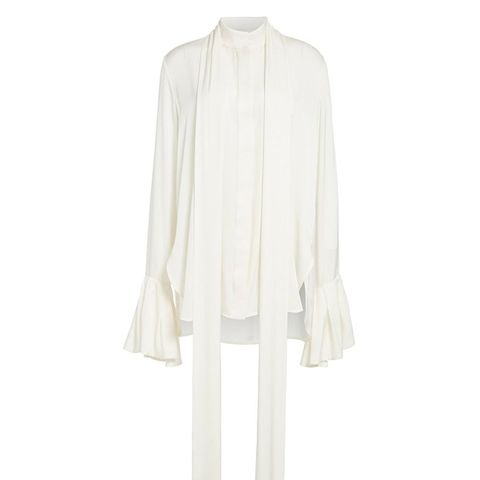 Little Me Ruffle Sleve Blouse