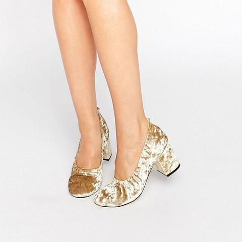 Simone Velvet Heels