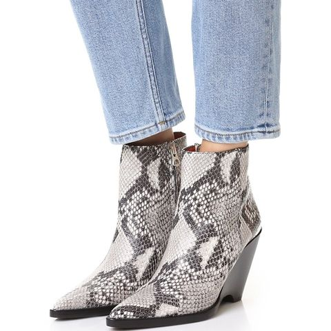 Caroline Wedge Booties