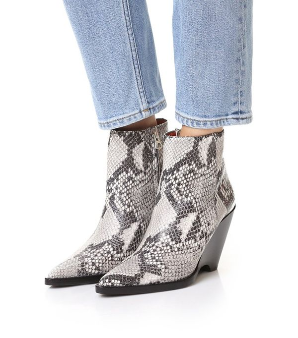 Acne Studios Caroline Wedge Booties