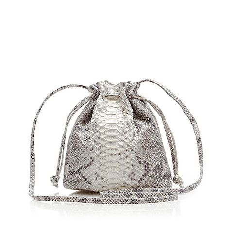 Python Small Bucket Bag