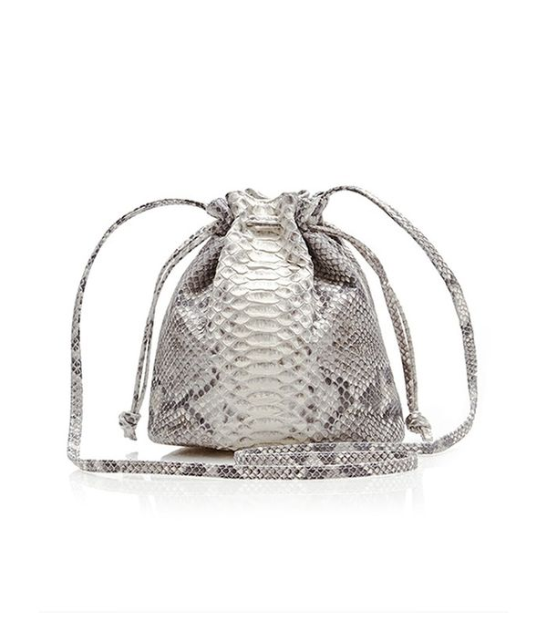 Hunting Season Python Small Bucket Bag