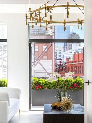 Inside Kendall Jenner's Airy, Light-Drenched New York Penthouse