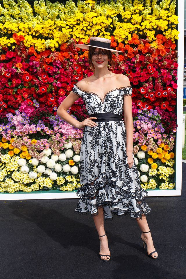 Pictured: Georgia Fowler Who What Wear Australia: What do you think the biggest racing trends will be this year?  Megan Blake Irwin: For me personally, I'm really loving feminine flowy...