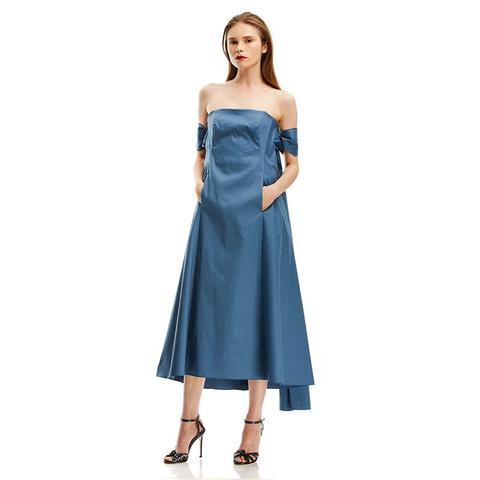 DB Cotton Off Shoulder Dress