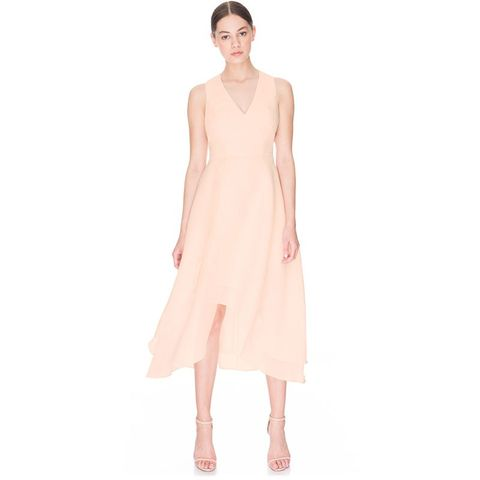 Soft Peach All Yours Dress