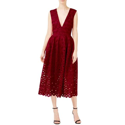 Spot Lace Ball Dress