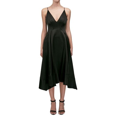 Duchess Satin Dress