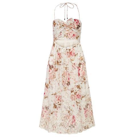 Eden Cut Out Floral Dress