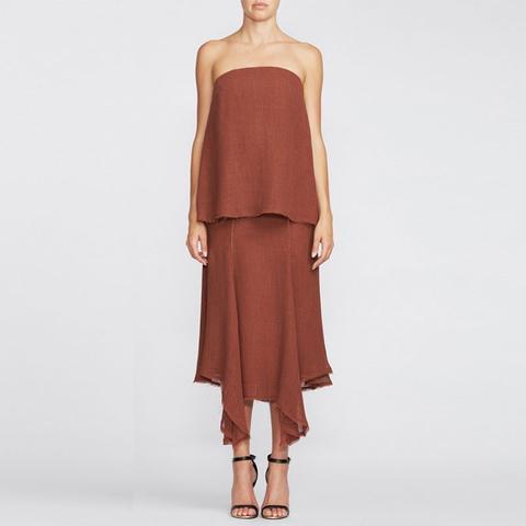 Yumi Strapless Dress