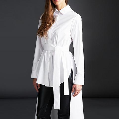 Belted Long Shirt