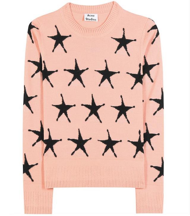 Acne Studios Pacis Star Wool Sweater