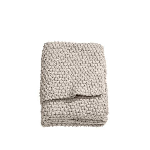 Moss Knit Throw