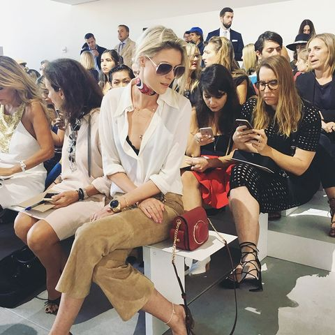 From Bella to the Beckhams: Inside NYFW With Über-Blogger Sofie Valkiers