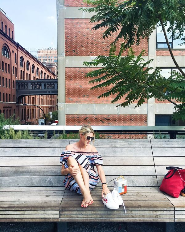 """""""Time to explore this amazing city and take in its unique energy, including a healthy brunch, a little High Line hike and healthy salads."""""""
