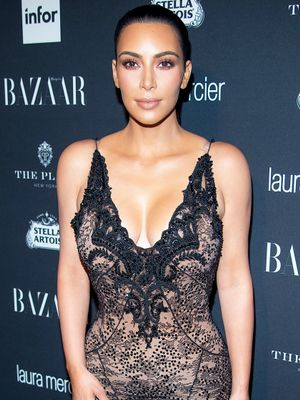 Kim Kardashian West Is Down With Juicy Couture Tracksuits