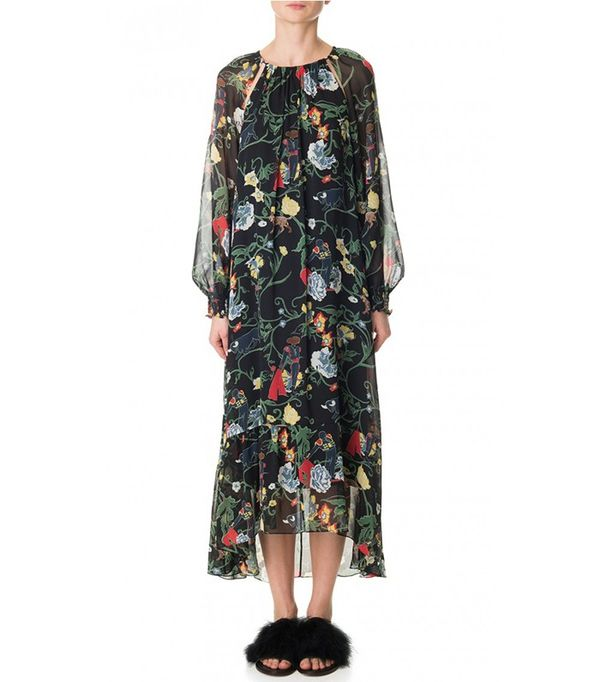 Tibi Seville Printed Josephina Dress