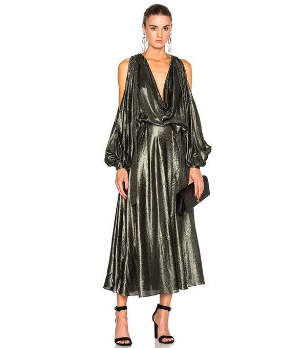 Zimmerman Karmic Metallic Billow Dress