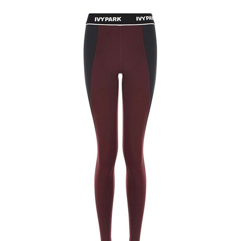Ribbed High Rise Ankle Legging