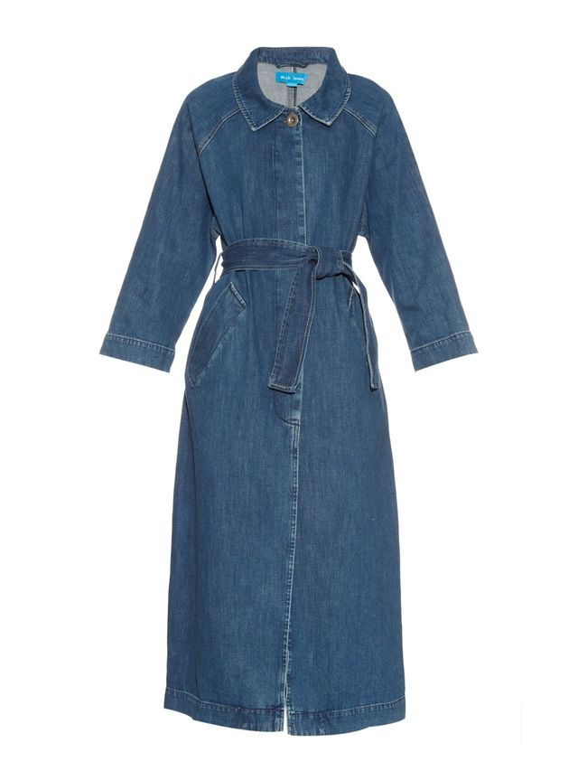M.I.H. Jeans Raglan-Sleeves Denim Coat