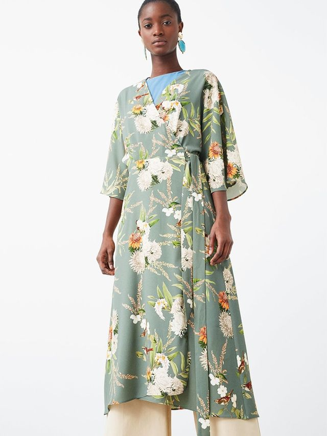 Mango Wrapped Gown