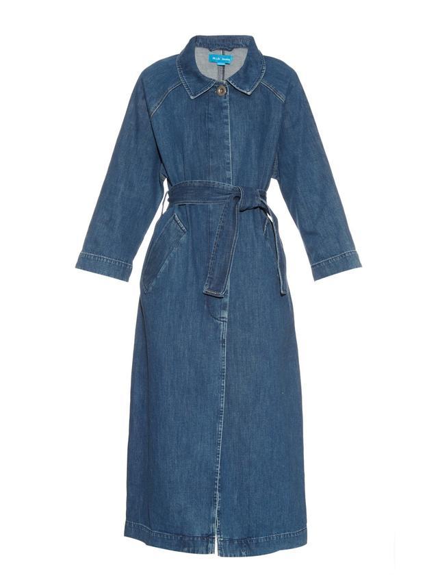 M.I.H. Jeans Raglan-Sleeves Denim Coat