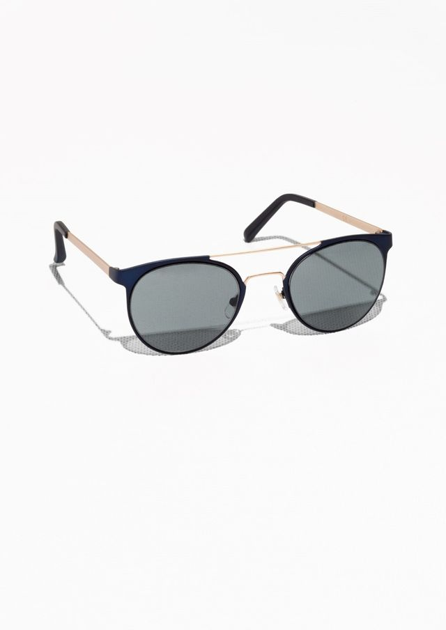 & Other Stories Metal Frame Aviator Sunglasses