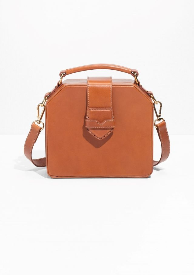 & Other Stories Structured Leather Bag