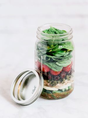 This Lunch-in-a-Jar Recipe Will Give You Glowing Skin
