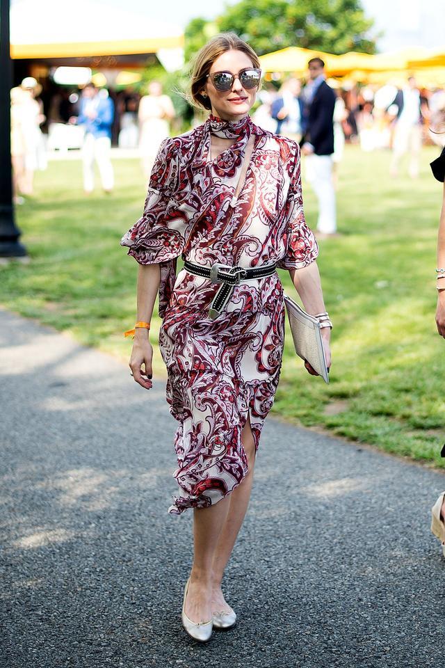On Palermo:Olivia Palermo + Chelsea 28 dress.