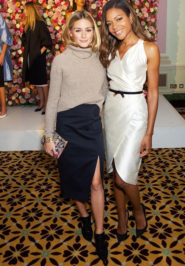 WHO: Olivia Palermo and Naomie Harris WHAT:Maison MakaremS/S 17