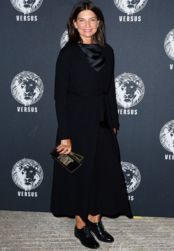 WHO: Natalie Massenet WHAT:Versace Versus Show