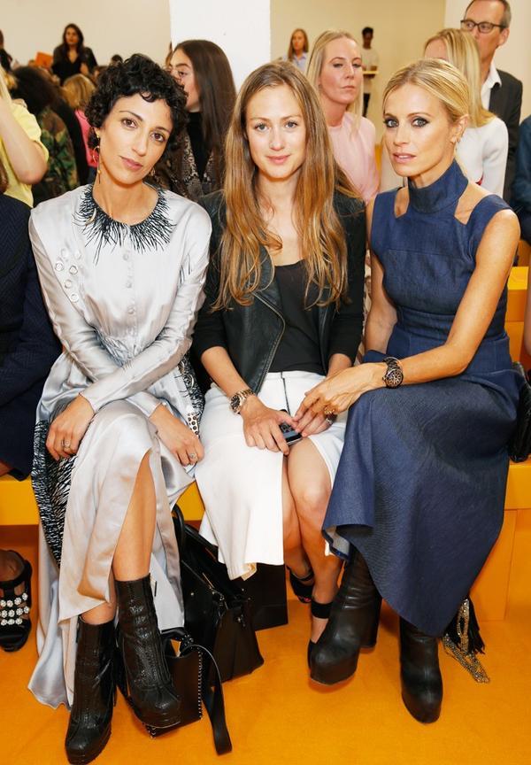 WHO:Yasmin Sewell, Hannah Redmayne, Laura Bailey WHAT:Emilia WicksteadS/S 17