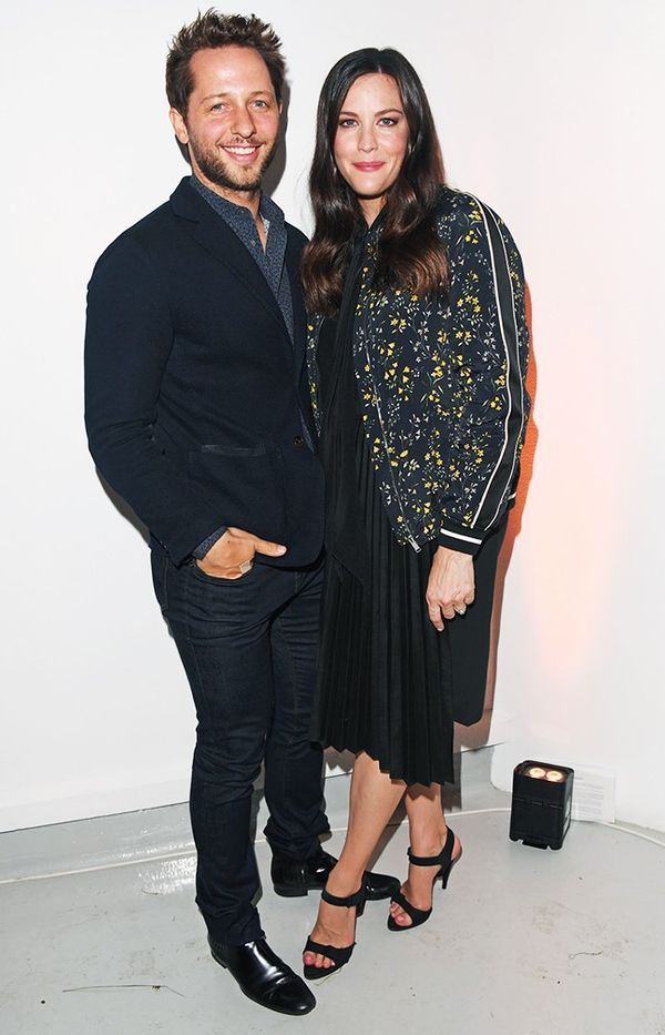 WHO:Derek Blasberg and Liv Tyler WHAT:Belstaff S/S 17 launch with Liv Tyler at London Fashion Week