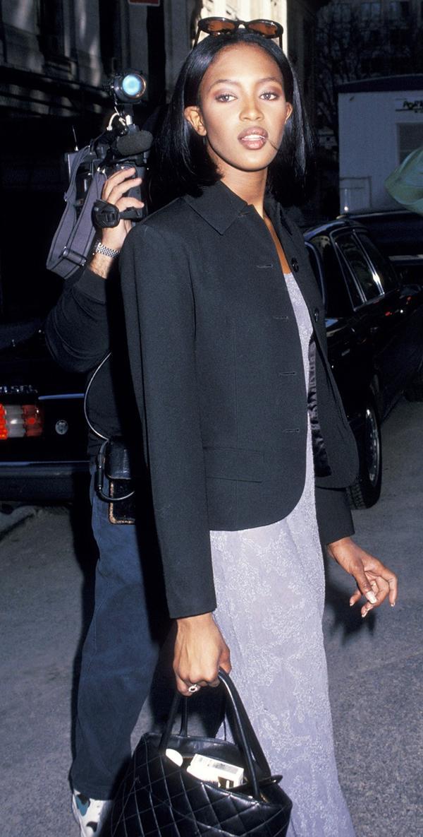 Naomi Campbell street style