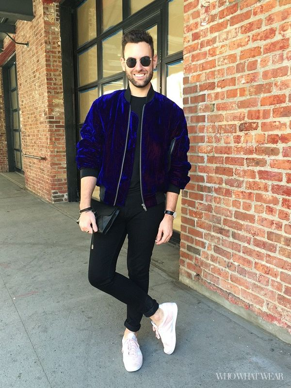 What Who What Wear fashion director Bobby Schuessler wears to NYFW