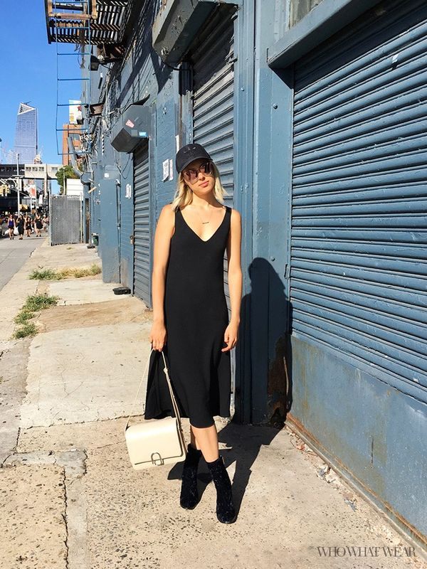 What Who What Wear editor Aemilia Madden wear to NYFW