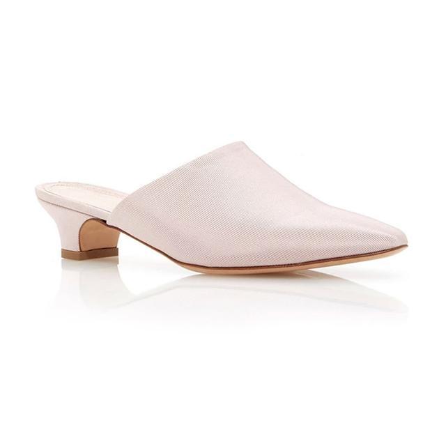 Mansur Gavriel Grosgrain Elegant Slides