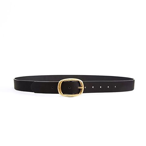 Rectangle Buckle Jeans Belt