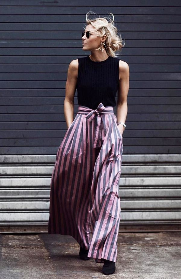 On Mary Seng: Tome NYC trousers.