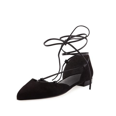 Gilligan Lace-Up d'Orsay Flats
