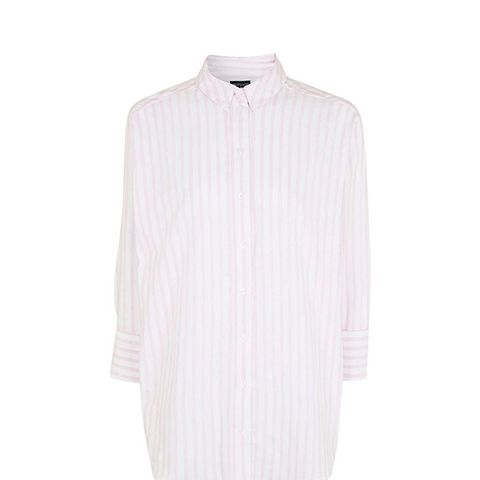 Mensy Oversized Stripe Shirt