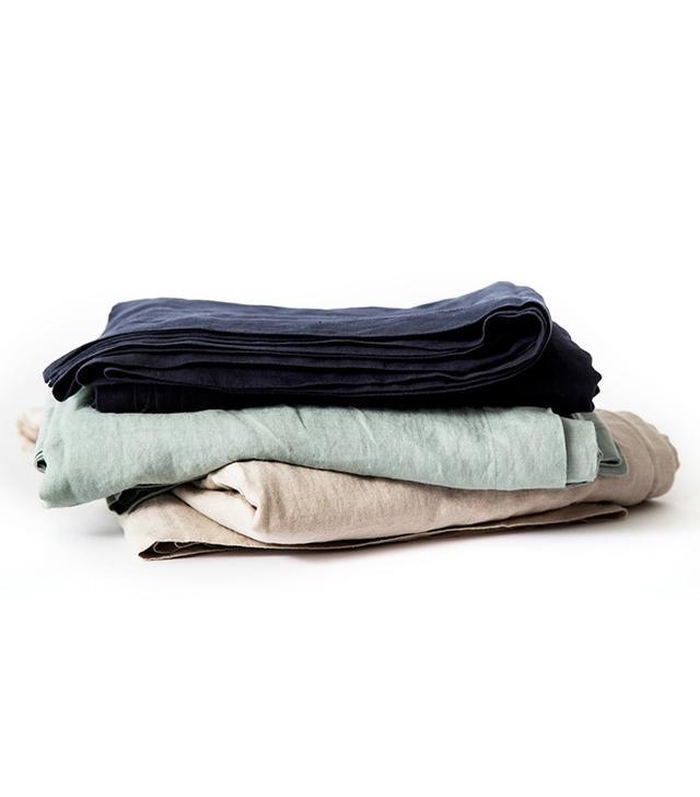 Cultiver Linen Flat Sheets