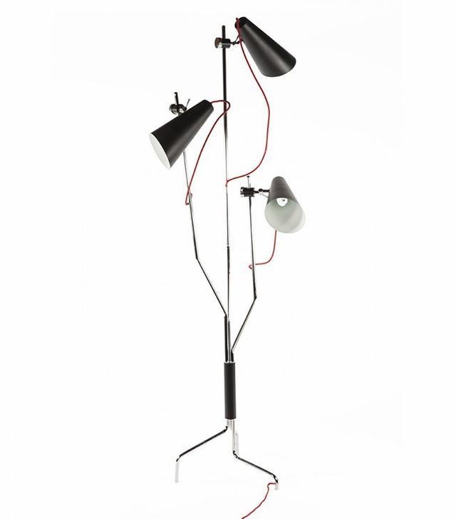France & Søn Triennale Twisted Floor Lamp