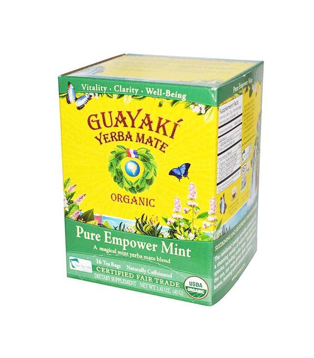 Guayaki Yerba Mate Pure Empower Mint Tea