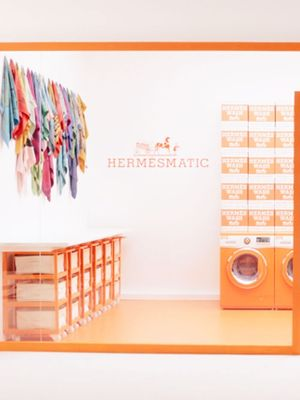 Hermès Just Created the Chicest Laundromat on the Planet