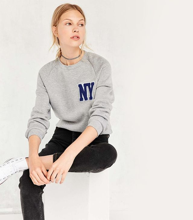Project Social T Chenille City Pullover Sweatshirt