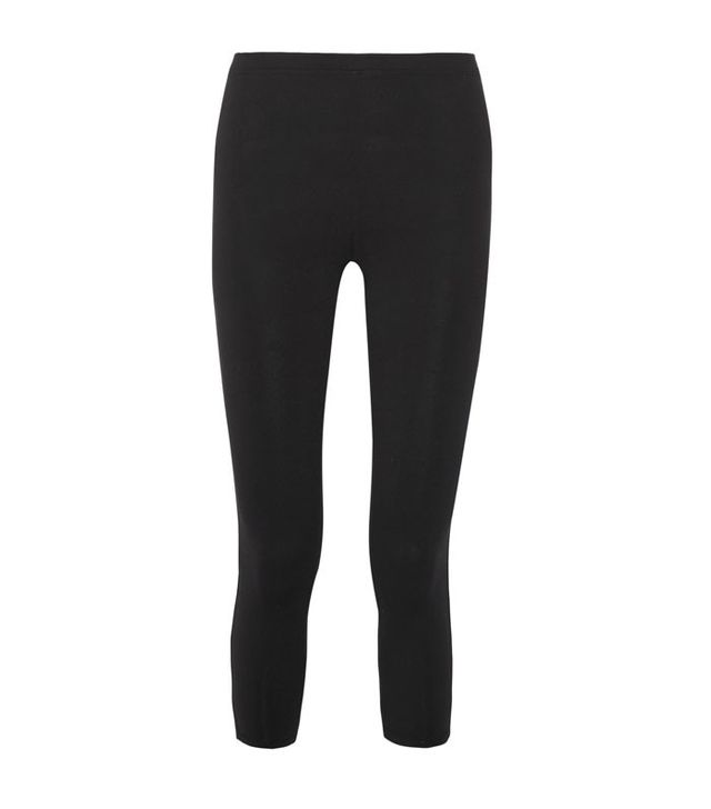 Live the Process Cropped Stretch-Supplex Leggings